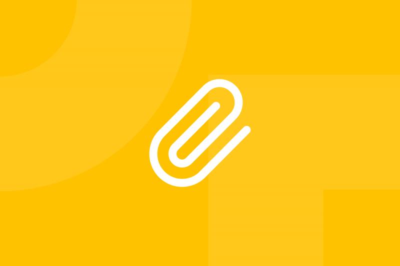 Ícone em tons de amarelo alusivo ao termo Benchmark