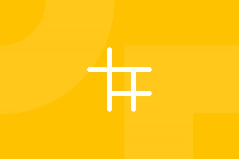 Ícone em tons de amarelo alusivo ao termo Morphological matrix