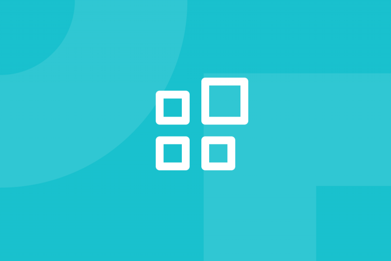 Ícone em tons de verde alusivo ao termo Pixel density