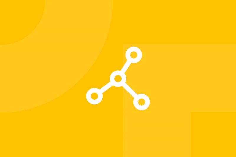 Ícone em tons de amarelo alusivo ao termo Porter four corners