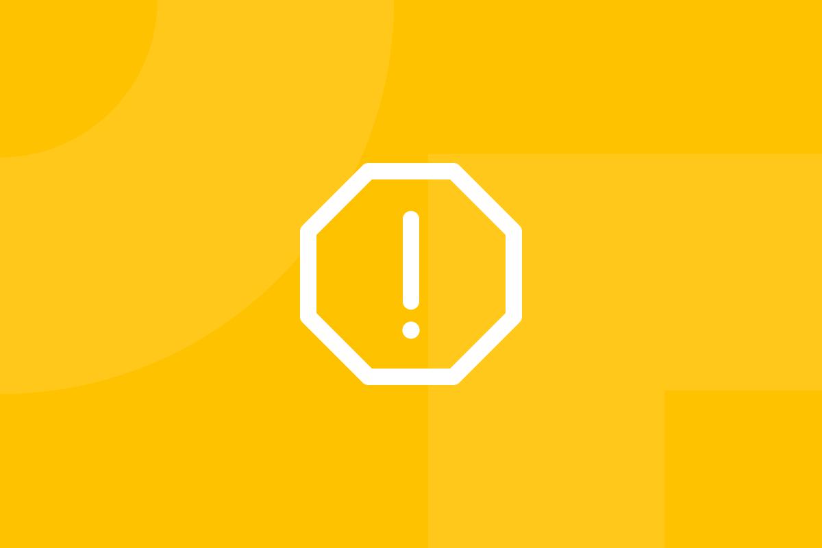Ícone em tons de amarelo alusivo ao termo Five whys questions