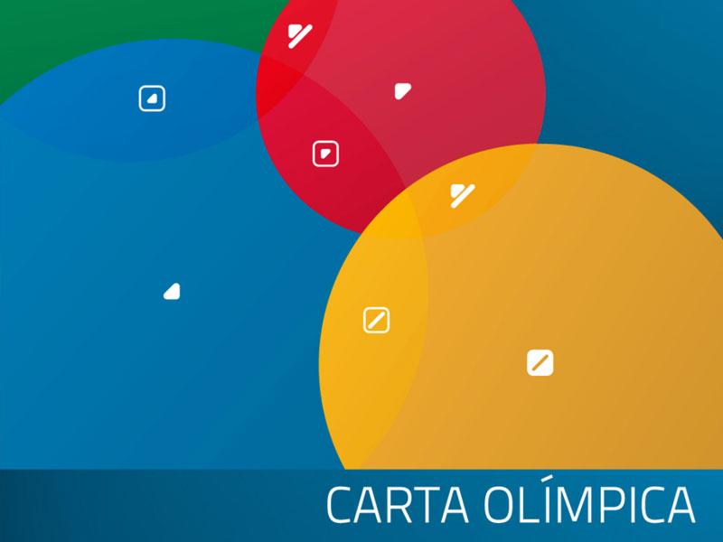 Fotografia da capa da Carta Olímpica Portuguesa