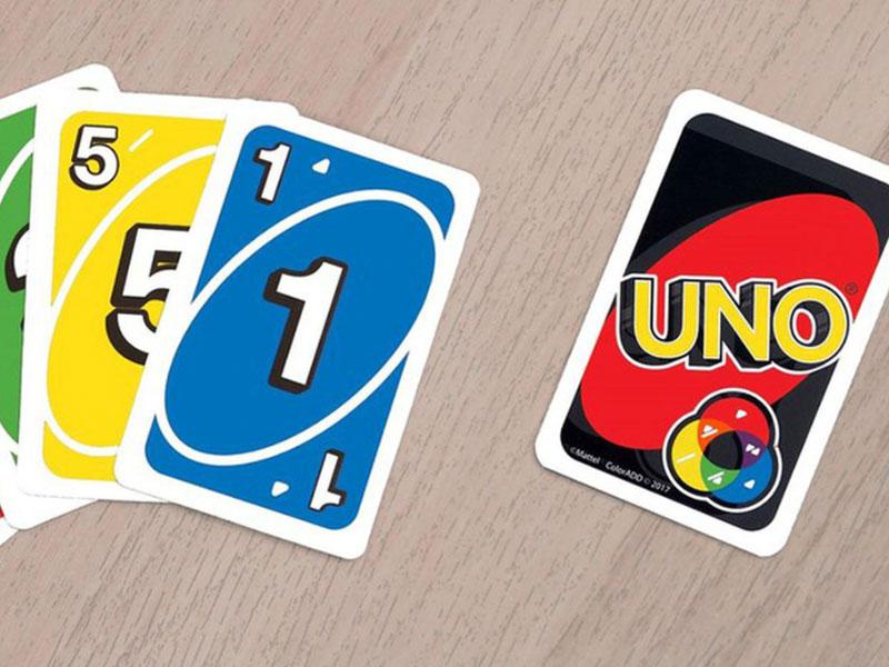 Fotografia de cartas do jogo Uno