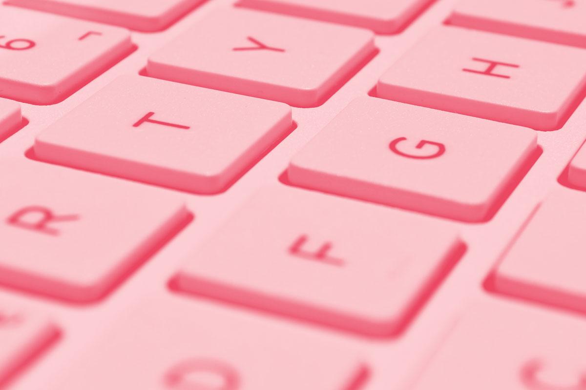 Fotografia de um teclado de computador alusivo ao conceito de novas tecnologias