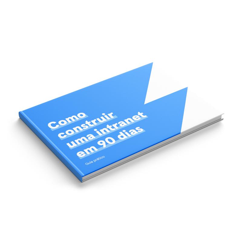 Ilustração da capa de um dos guias práticos do DXD sobre intranets