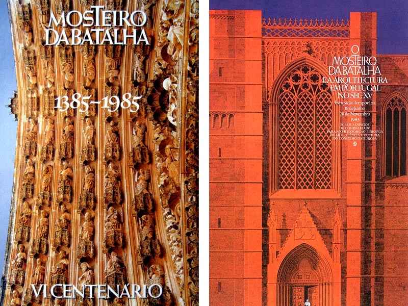 Ilustração de cartazes para o Mosteiro da Batalha