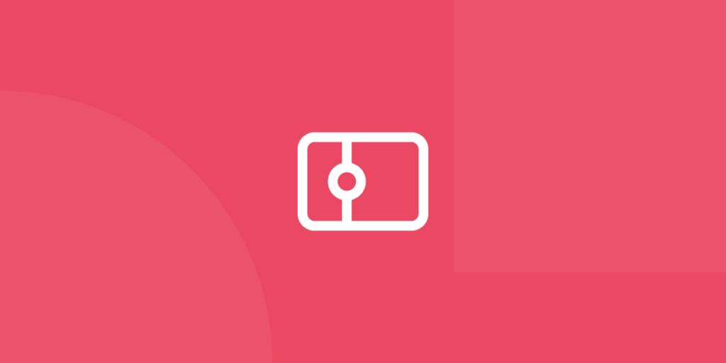 Ícone em tons de vermelho ilustrativo de consultoras digitais portuguesas